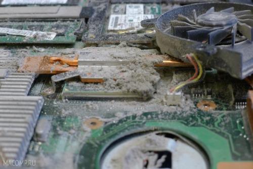 Зачем чистить ноутбук от пыли